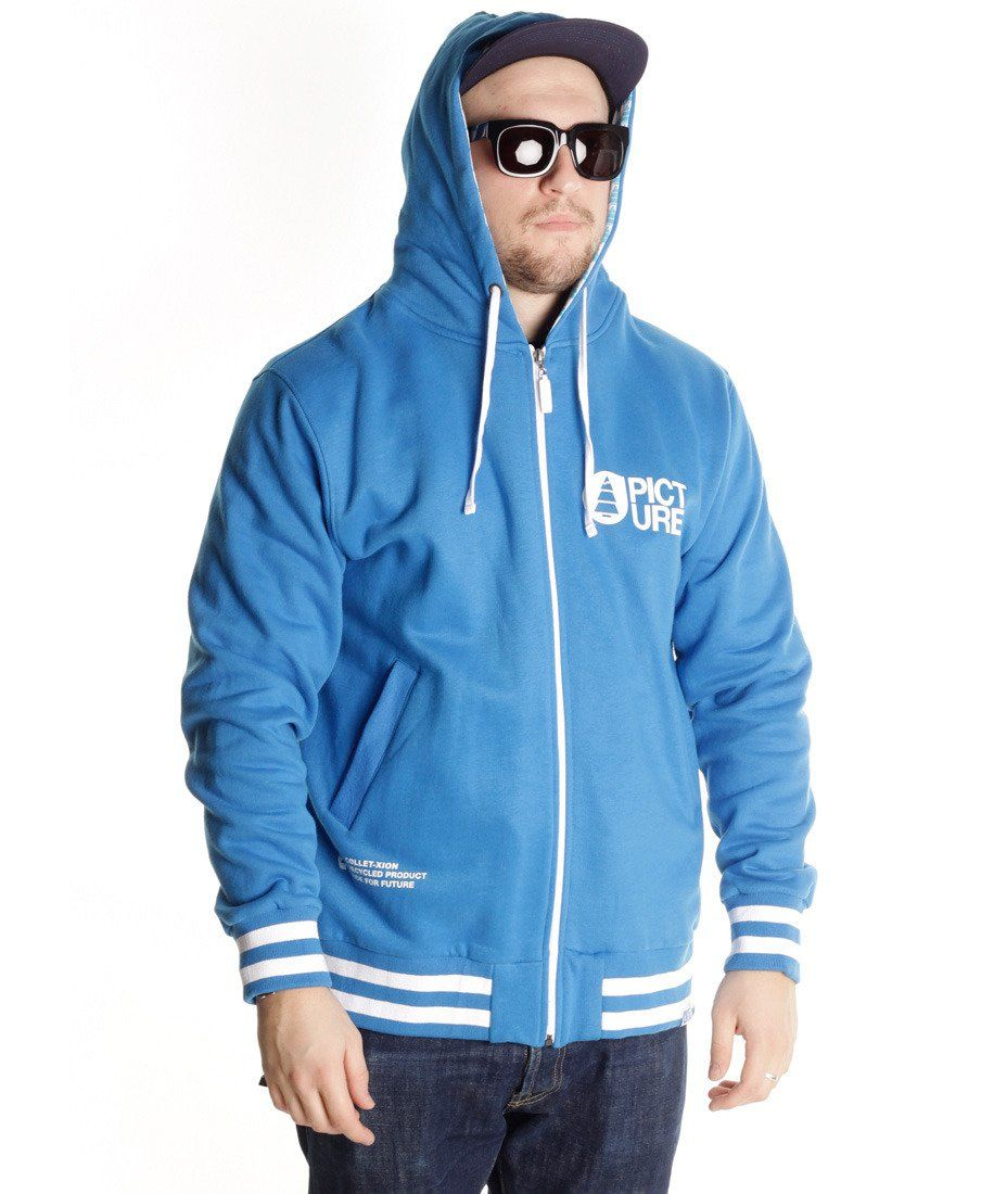 картинка Толстовка Picture Organic Tall sweat Collet-xion Tall ride blue от магазина skillboard.ru Тел. +7(495)142-42-61