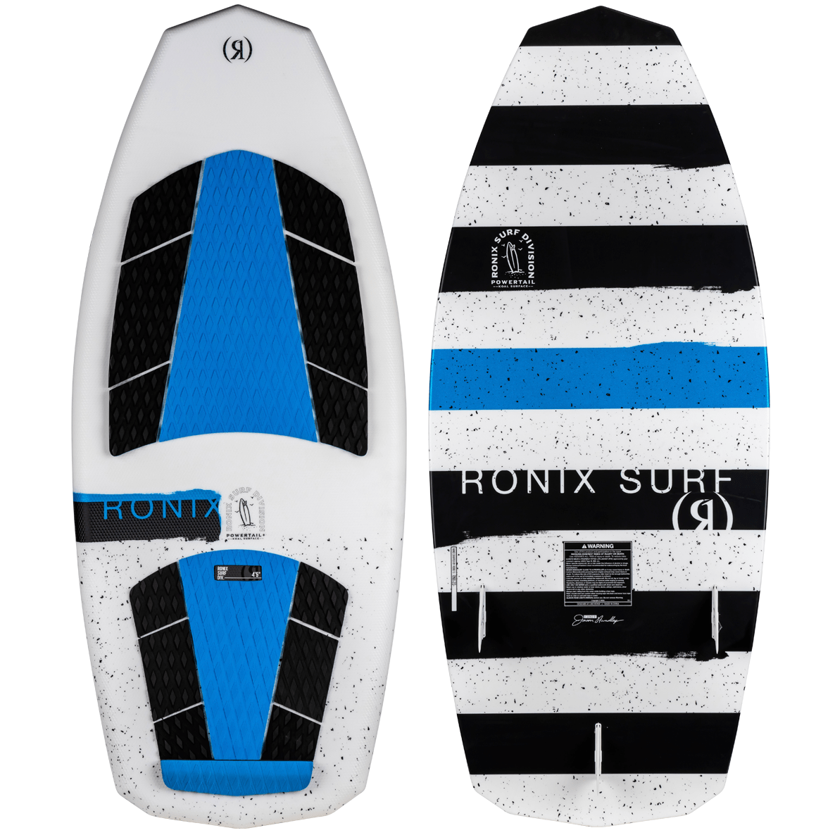 RONIX серфборд KOAL SURFACE (SS20) (TEXTURED WHITE / BLUE)