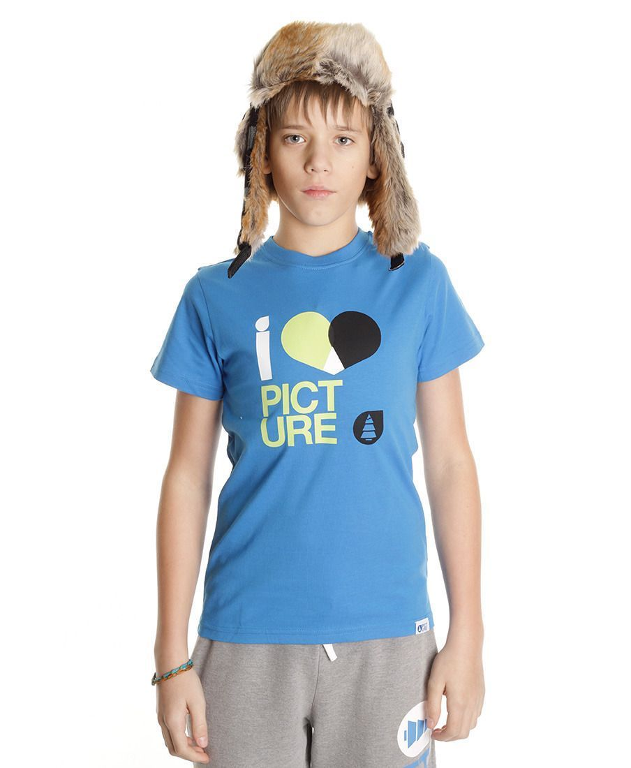 Футболка детская Picture Organic Love Kids Basic Tee Blue