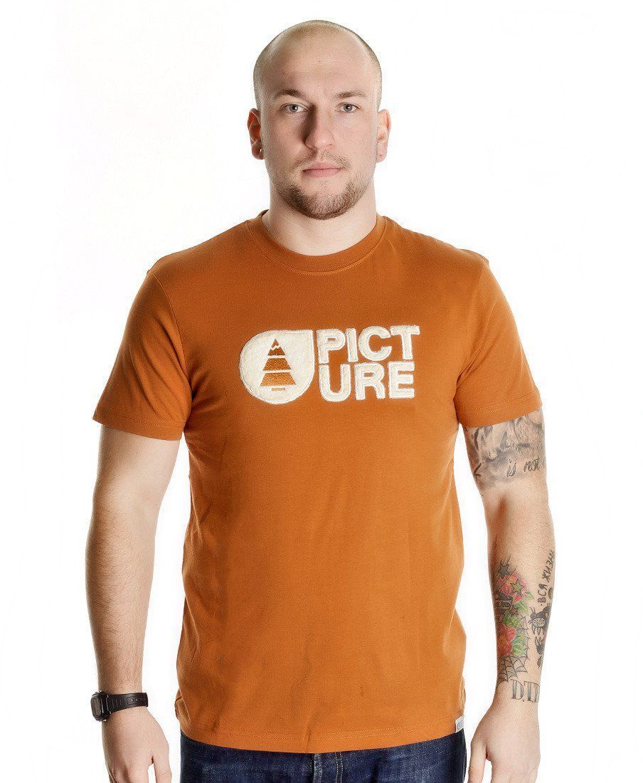 Футболка Picture Organic Basement Men Plush Tee Caramel