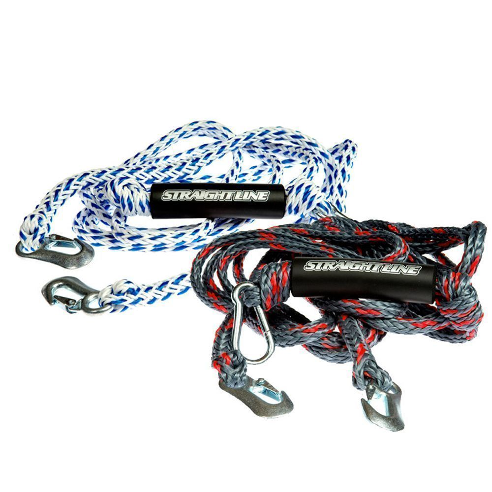 Поводок для мотора Straight Line 8' HD Tow Rope Harness S19