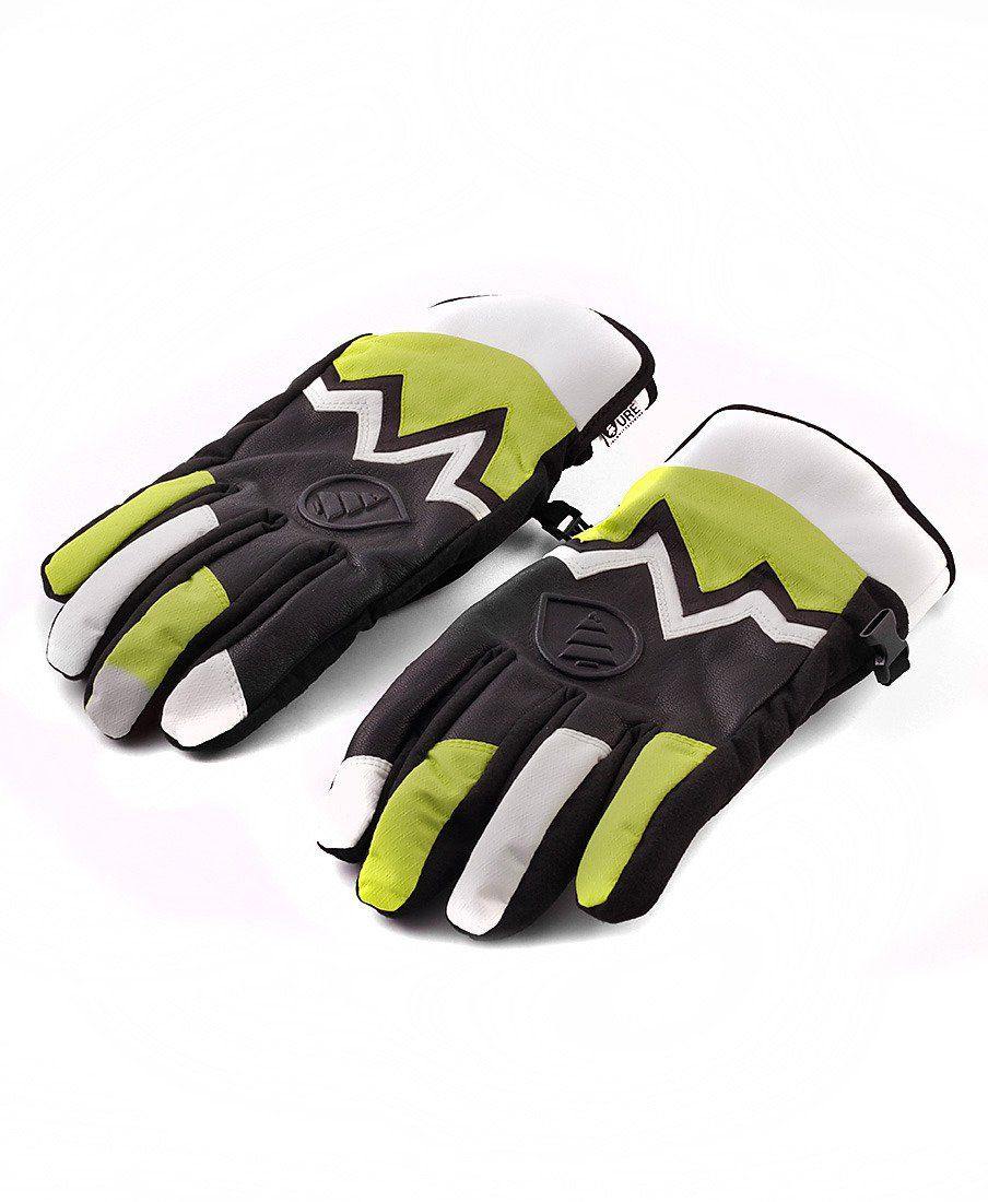 Перчатки Picture Organic gloves Planet black/reen