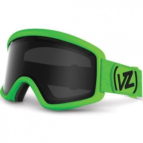 VONZIPPER маска BEEFY (FW16) (Flash Lime Matte / Black Chrome)