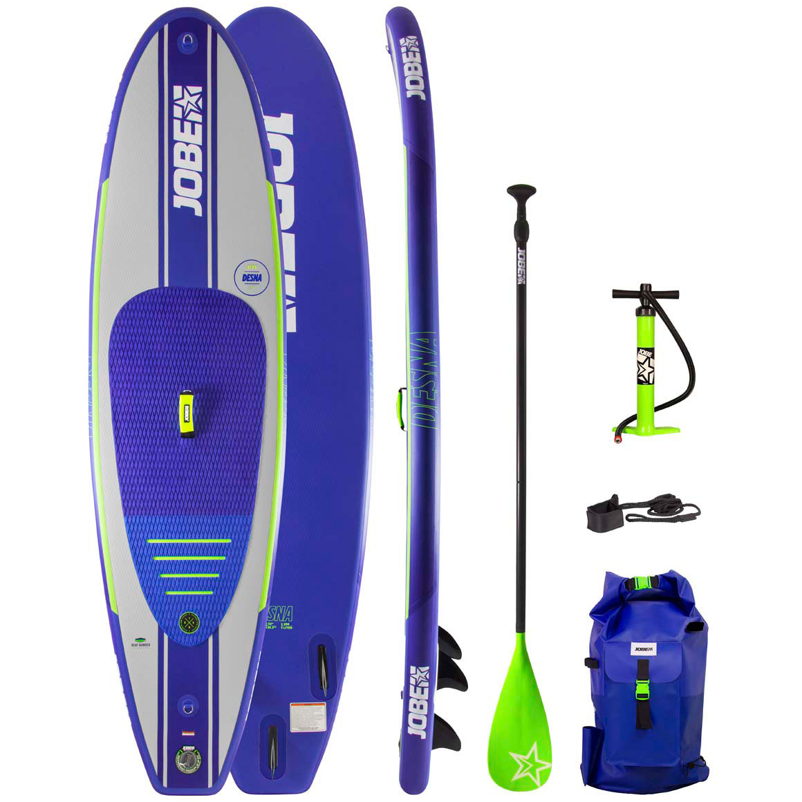JOBE комплект SUP AERO DESNA SUP BOARD (SS20) (ASSORTED)