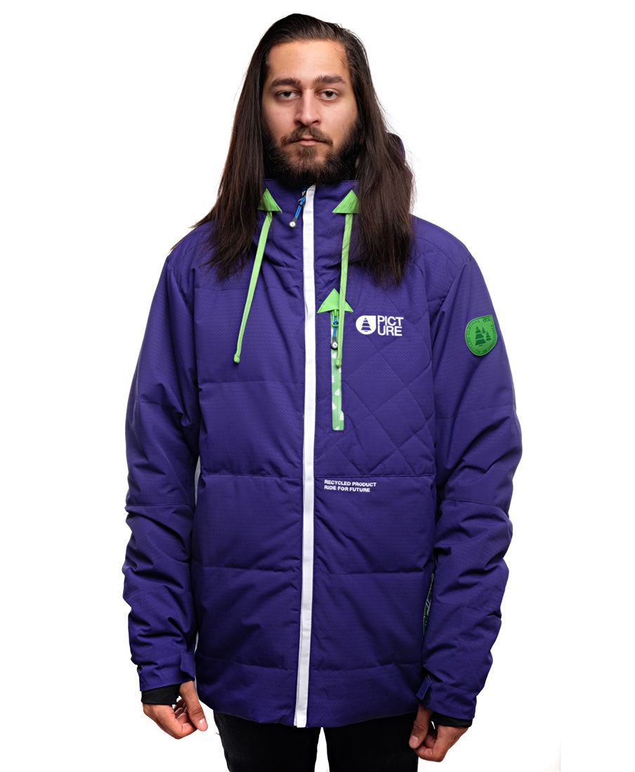 Куртка Picture Organic пуховая Genepi jkt Purple