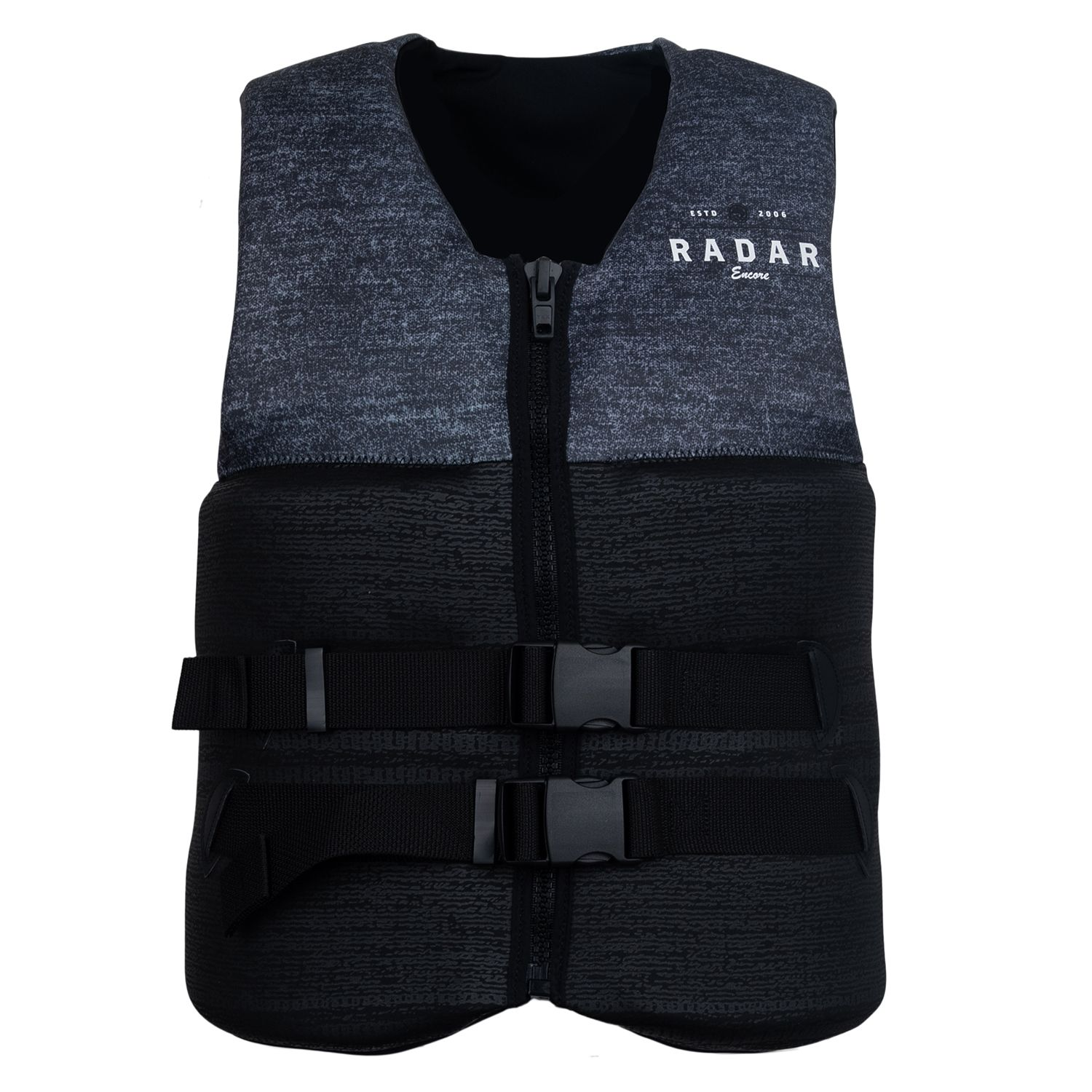 RONIX жилет водный ENCORE - CGA LIFE VEST (SS19) (BLACK / HEATHER GREY)
