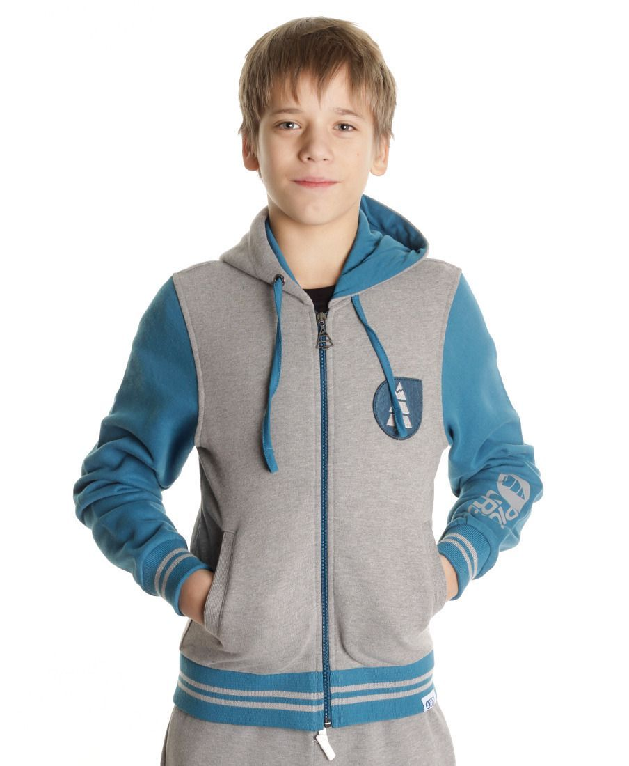 Толстовка детская Picture Organic Basemen US Kids Sweat Grey Melange