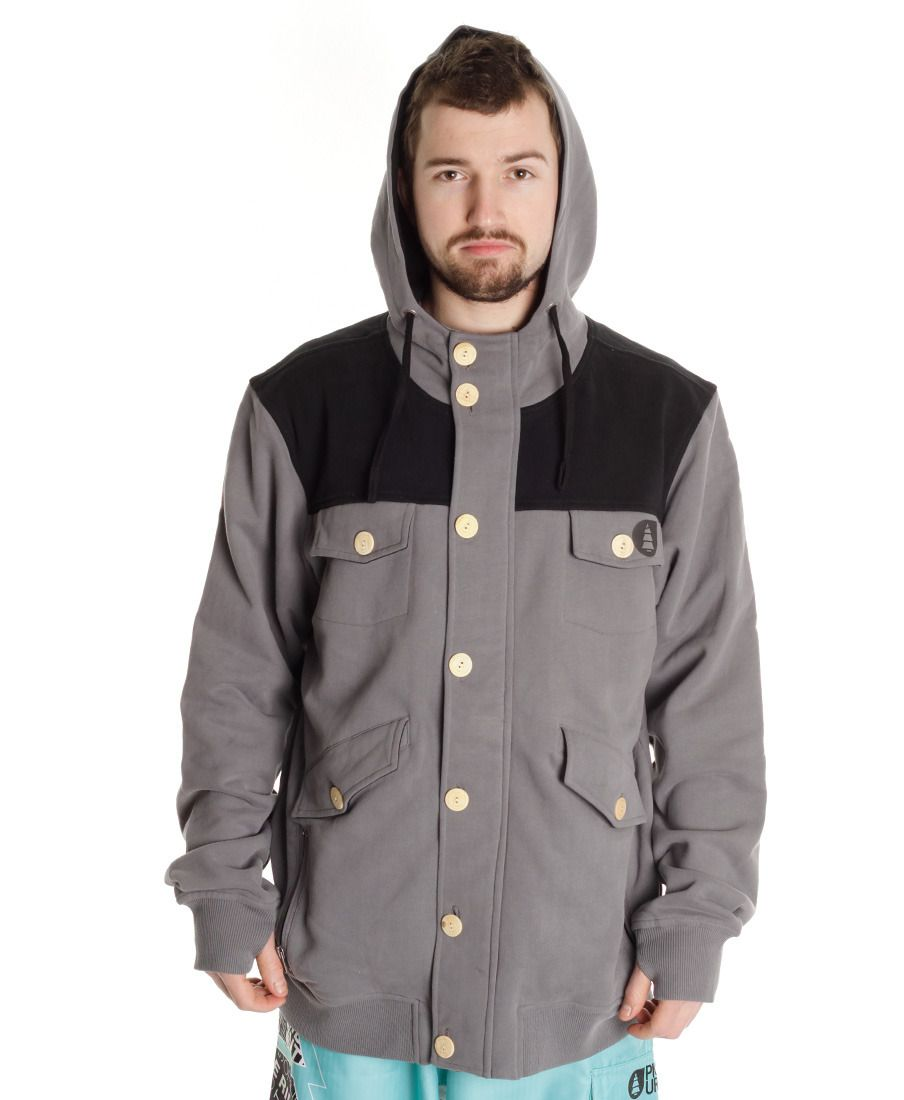 Толcтовка Picture Organic Zipper Grey