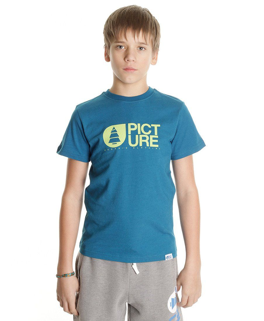 Футболка детская Picture Organic Basement Kids Tee Blue