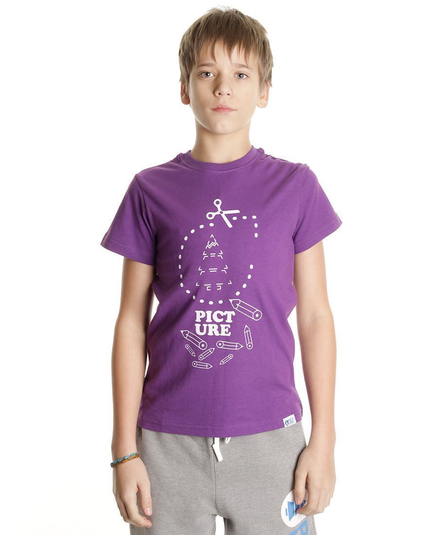 Футболка детская Picture Organic Quick Kids Tee Purple