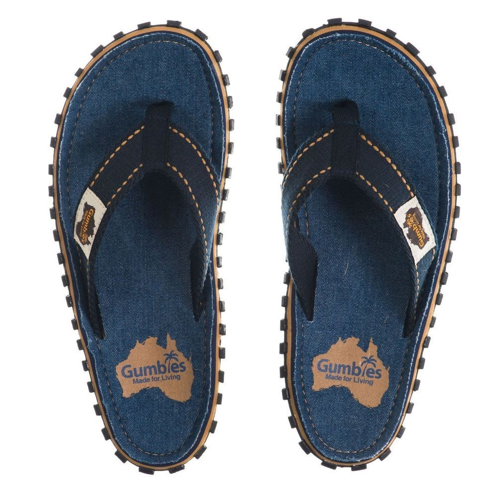 Шлепки унисекс Gumbies Flip Flop DARK DENIM S18
