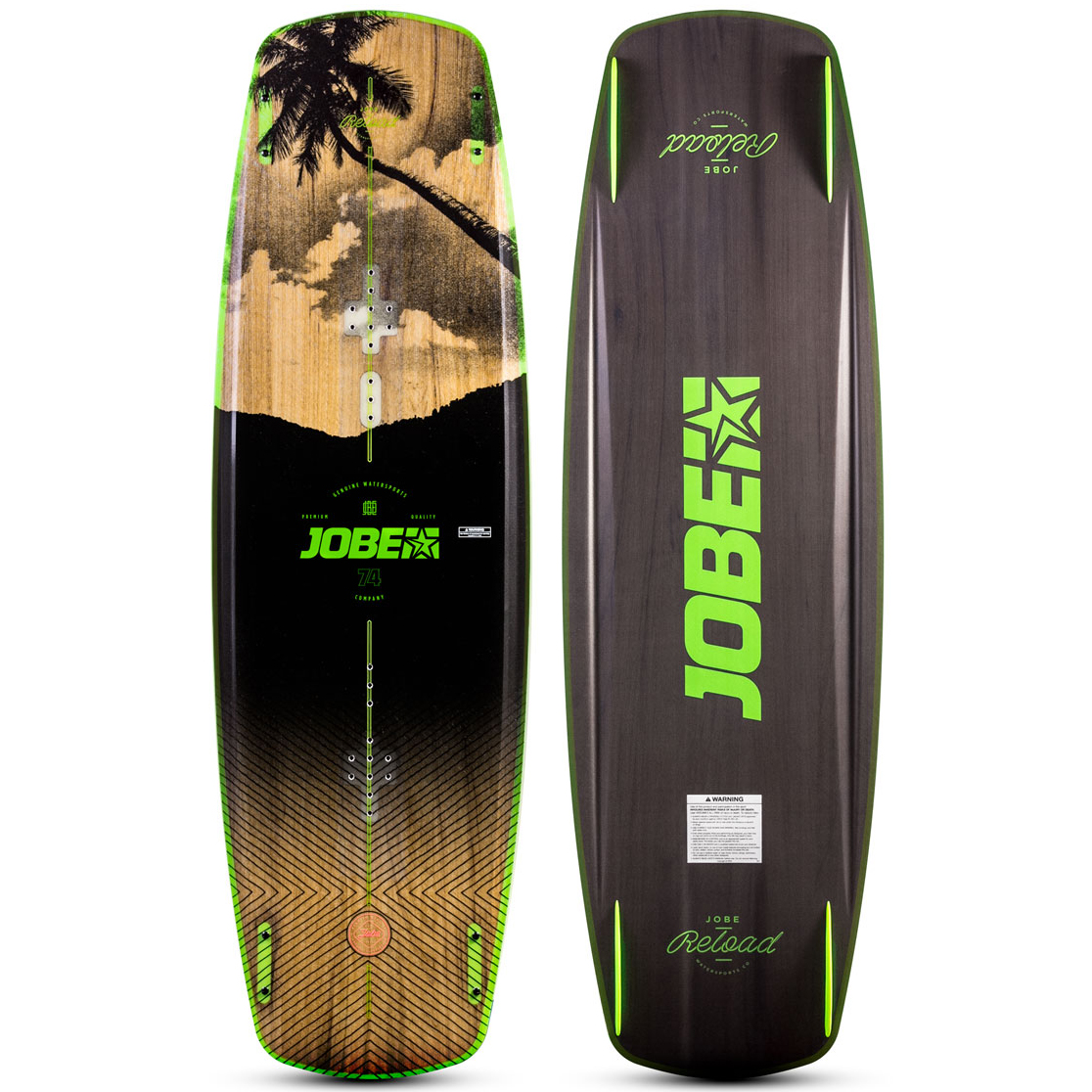 JOBE вейкборд RELOAD WAKEBOARD (SS20) (ASSORTED)